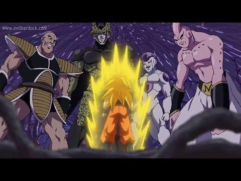 Goku Y Krilin Entrenan Motivacion Del Maestro Roshi Español
